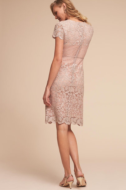 Mignon Doo Silver/Blush Priscilla Dress | BHLDN