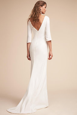 Wedding dresses gowns bhldn bacall gown bacall gown junglespirit Images