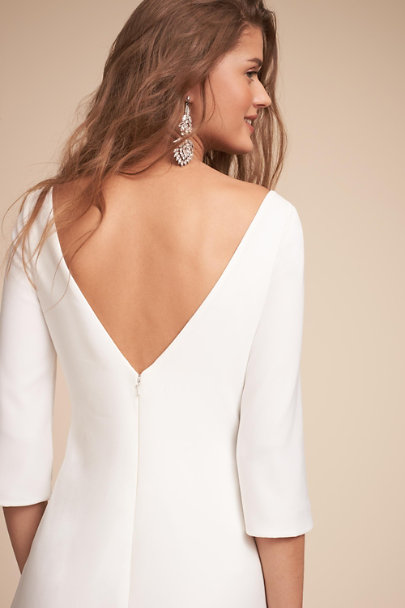 Amy Kuschel Ivory Bacall Gown | BHLDN