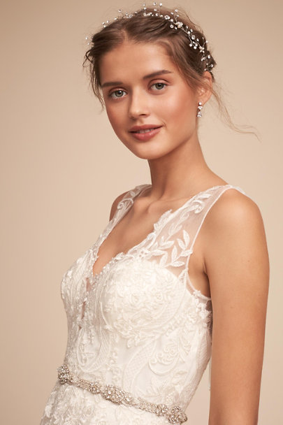 BHLDN Ivory Madrick Gown | BHLDN