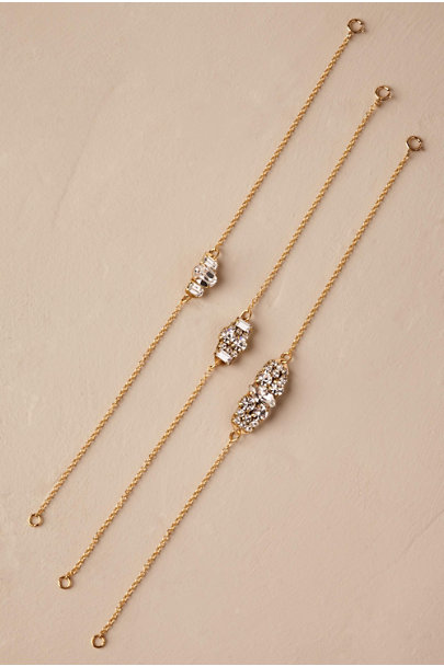 Sandy Hyun Gold Ilana Crystal Bracelet | BHLDN