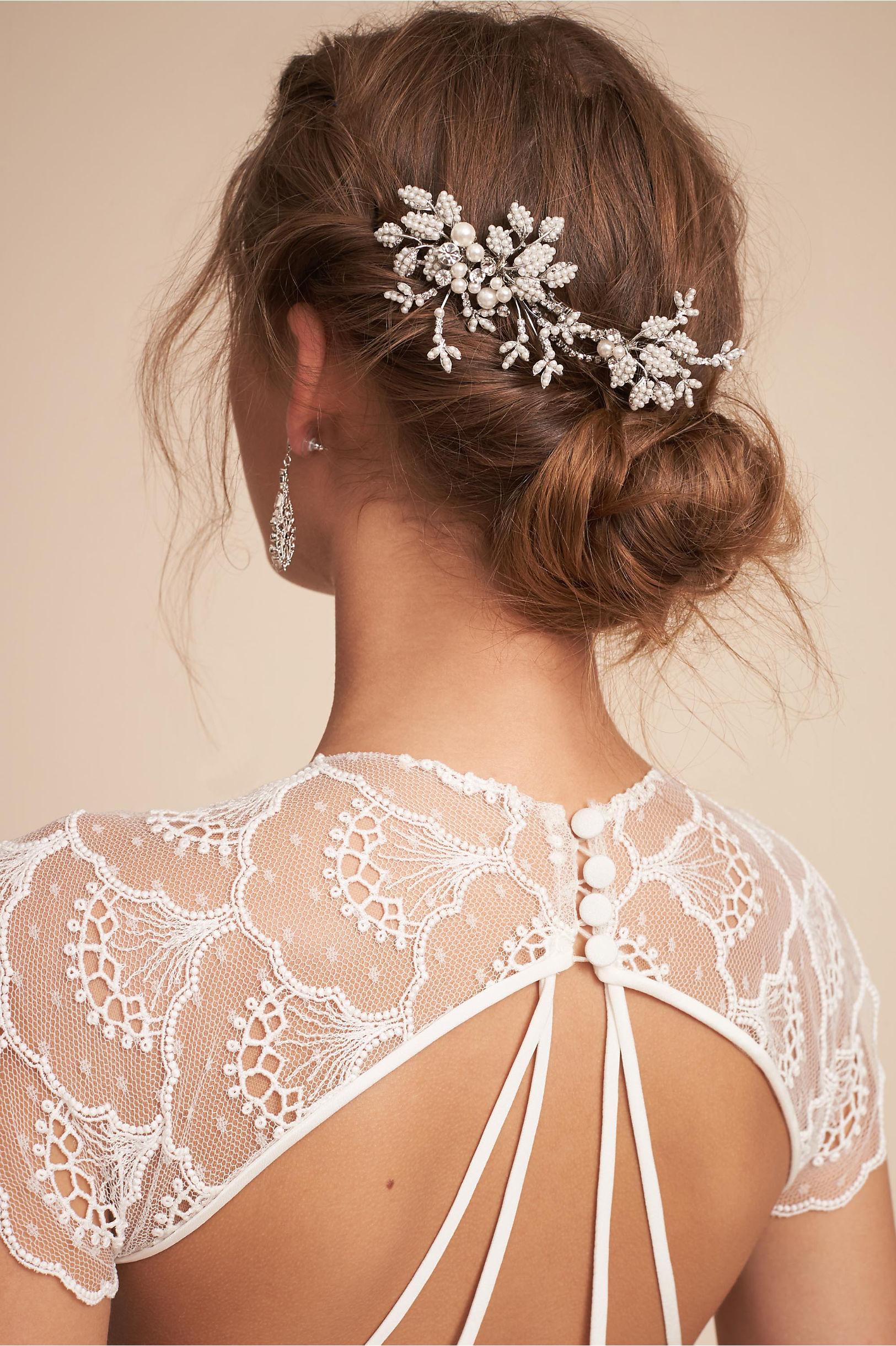 wedding hair accessories | bohemian hair accessories | bhldn
