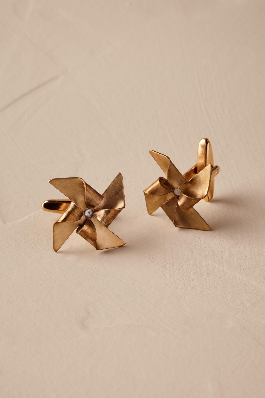 Pinwheel Cufflinks
