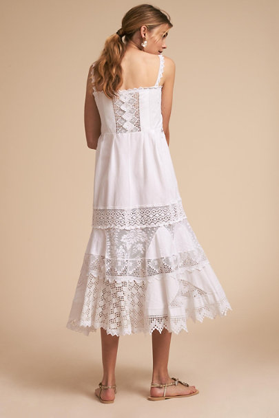 Place Nationale Ivory Cap Martin Dress | BHLDN