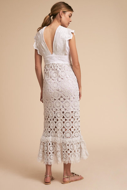Place Nationale Ivory Isidore Dress | BHLDN