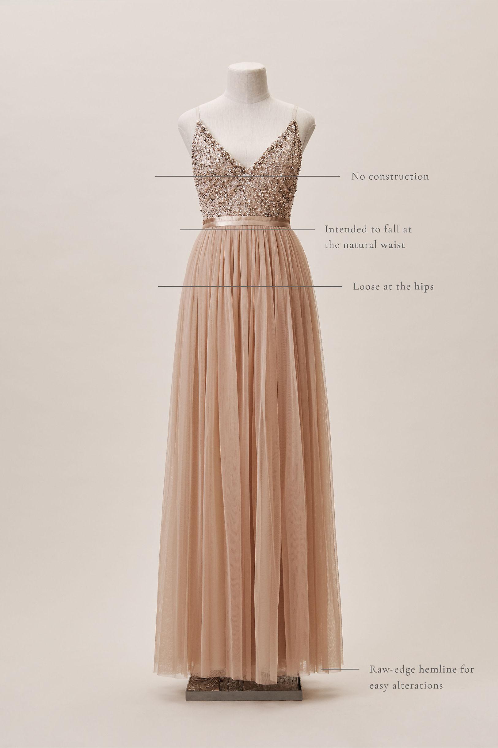 a9b72b275cd9 Avery Dress Blush In Occasion Dresses Bhldn