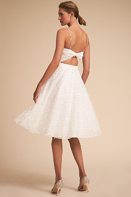 Wedding reception dresses little white dresses bhldn hudson dress junglespirit