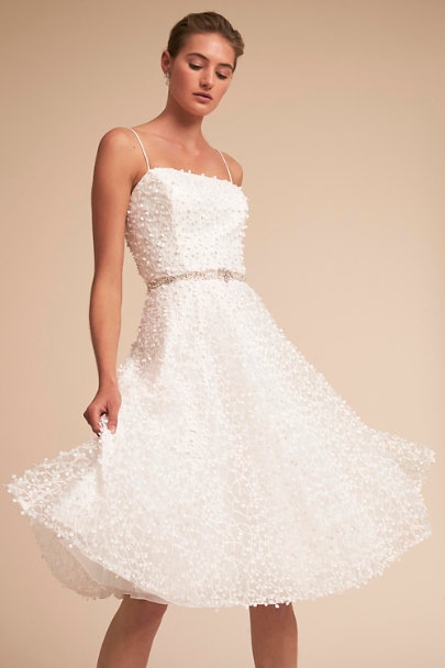 JS Collection Ivory Hudson Dress | BHLDN