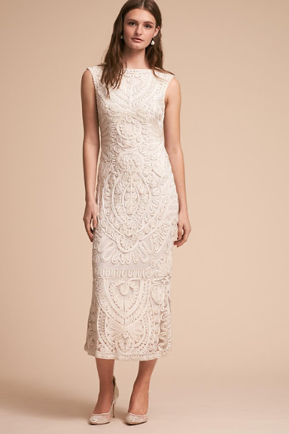 JS Collection Ivory Nevado Dress | BHLDN