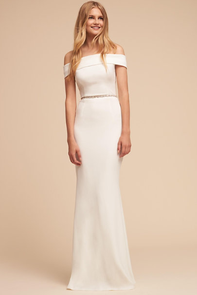 Katie May Ivory Legacy Dress | BHLDN
