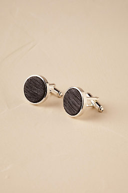 Whiskey Barrel Cufflinks
