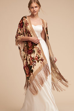 Roberts Burnout Velvet Wrap