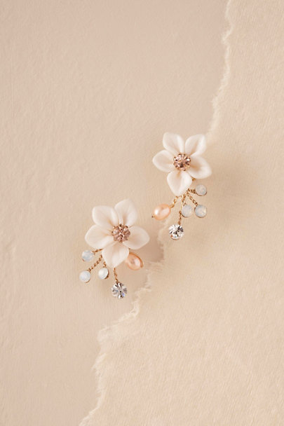 Justin & Taylor Gold Windflower Earrings | BHLDN