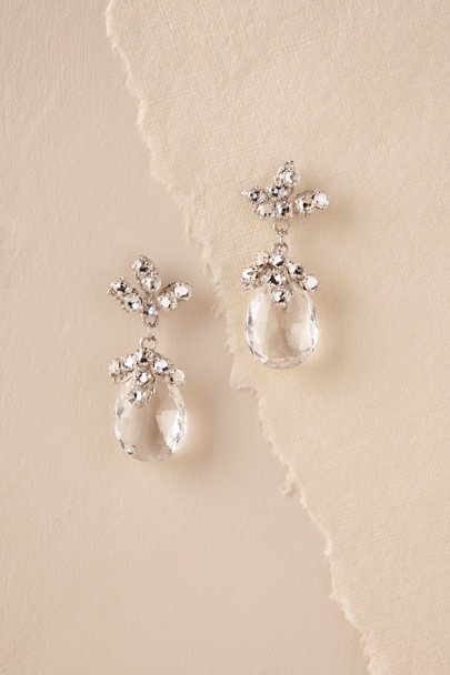 Elizabeth Bower Silver Elisa Earrings | BHLDN