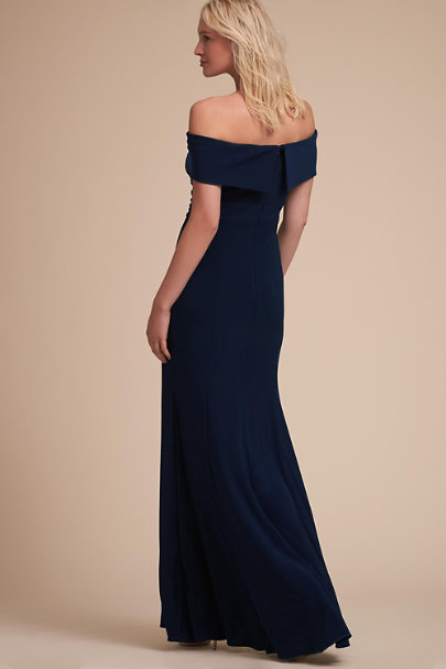 BHLDN Navy Ember Dress | BHLDN