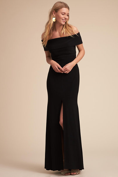 Black Ember Dress | BHLDN
