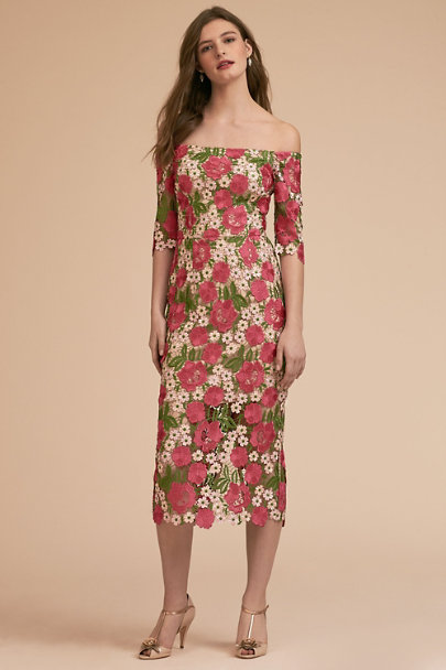 BHLDN Pink Multi Tamblyn Dress | BHLDN