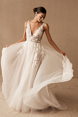 Watters wedding bridesmaid dresses bhldn b h l d n hearst gown junglespirit Image collections
