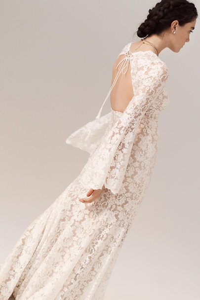 Watters Ivory Lucca Gown | BHLDN