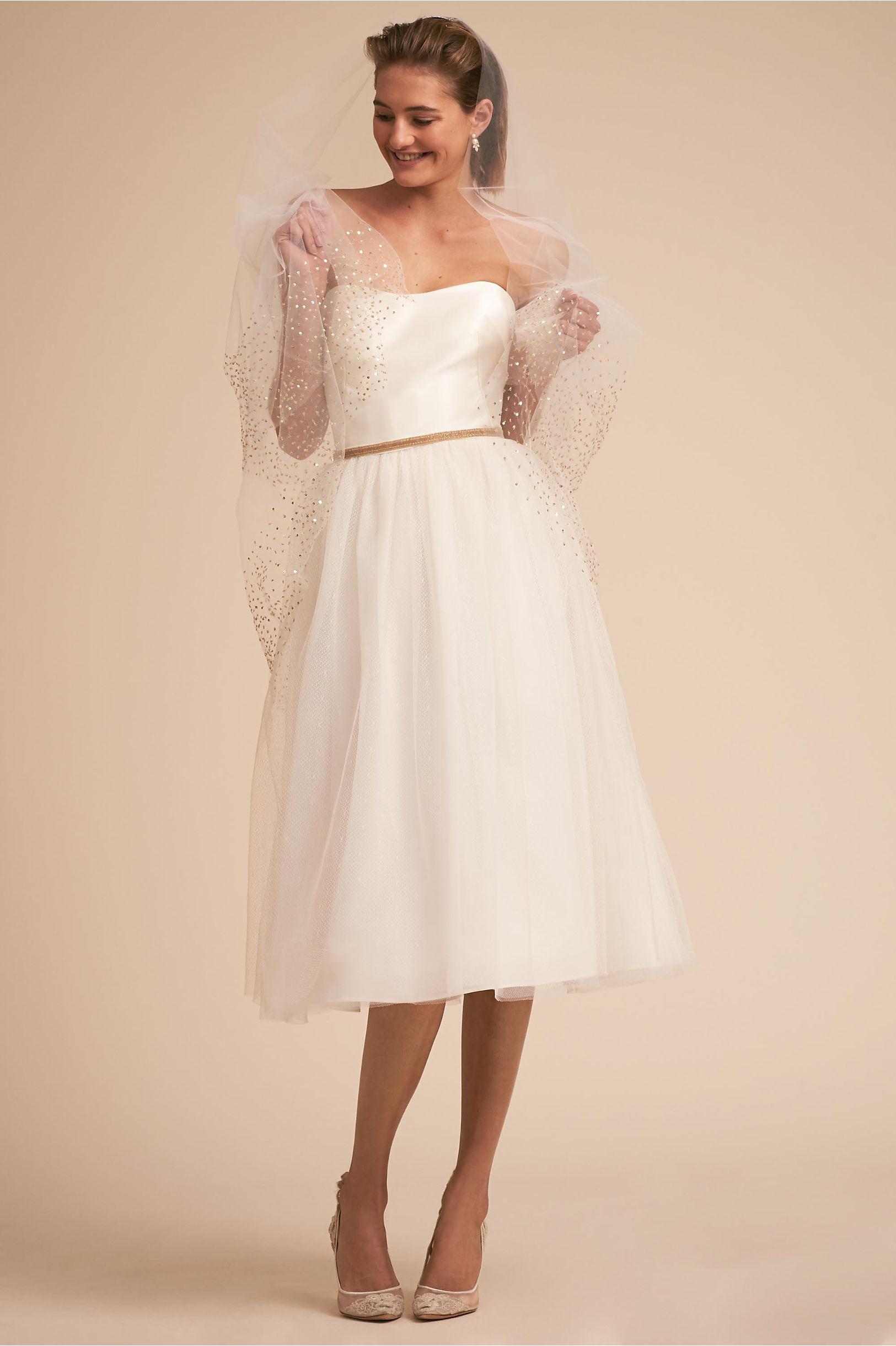 Hamilton Gown Ivory in Sale | BHLDN