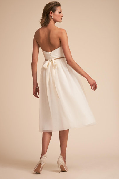 Watters Ivory Hamilton Gown | BHLDN