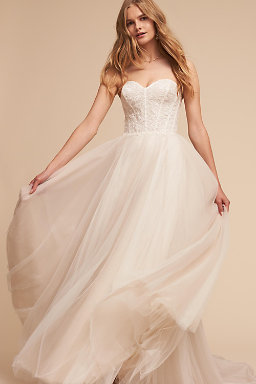 Shop wedding dresses on sale wedding dress clearance bhldn rowland gown junglespirit Images