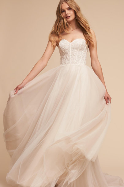 Watters Ivory Rowland Gown | BHLDN