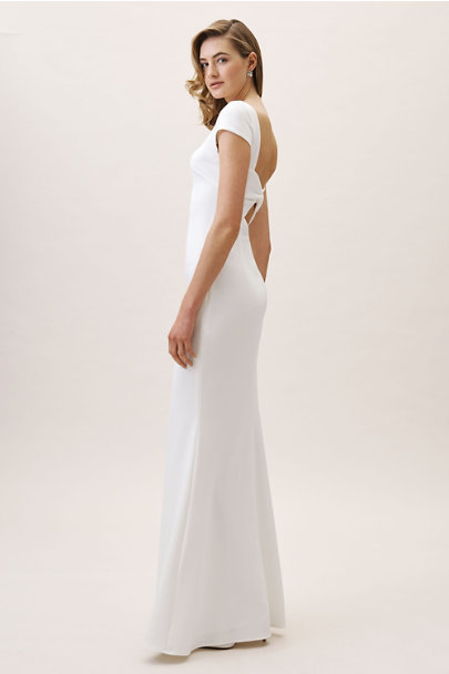 Katie May Ivory Madison Dress | BHLDN