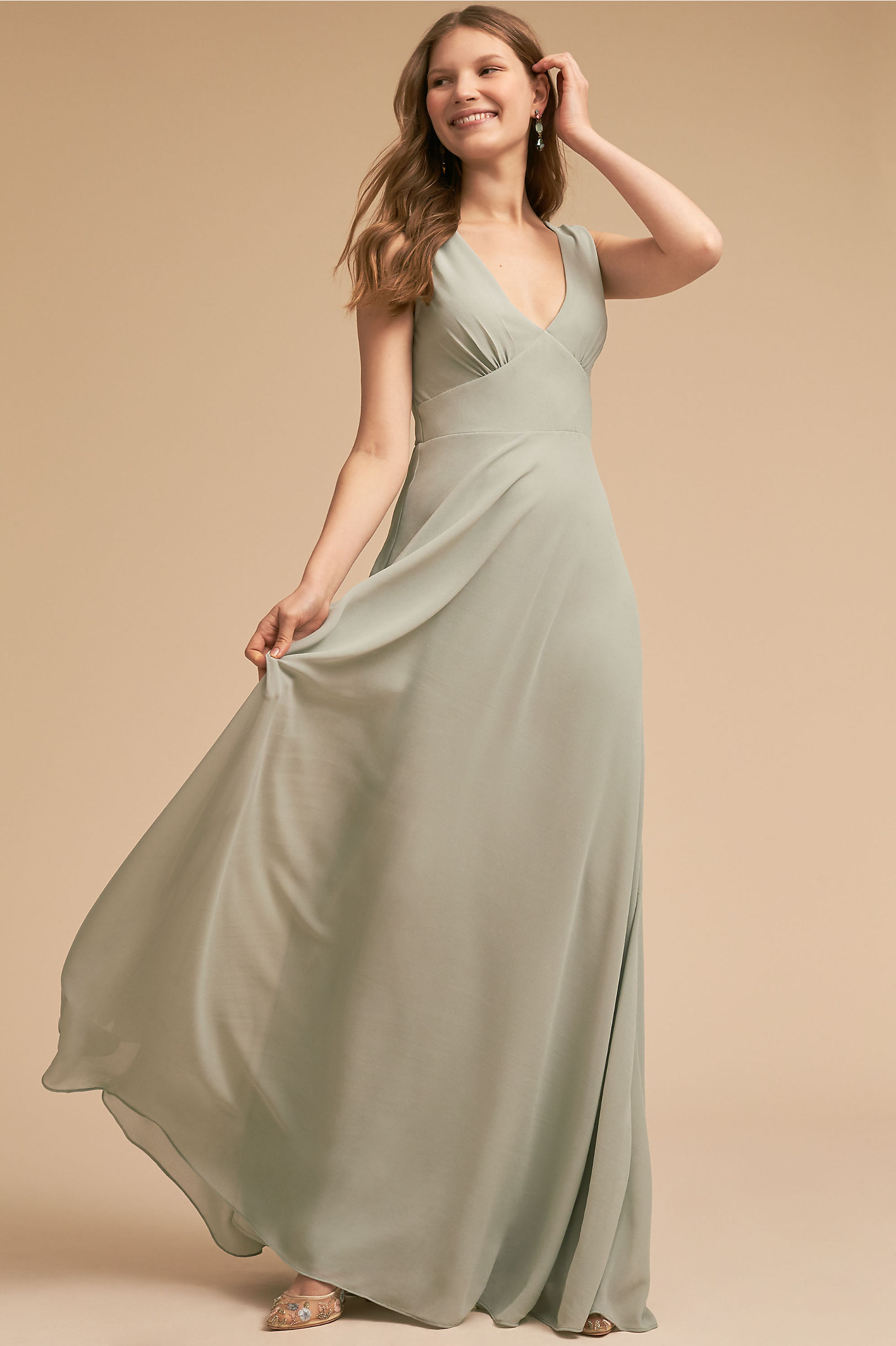 Green bridesmaid dresses bhldn capulet dress ombrellifo Image collections