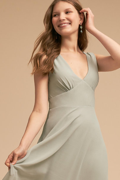 BHLDN Morning Mist Capulet Dress | BHLDN