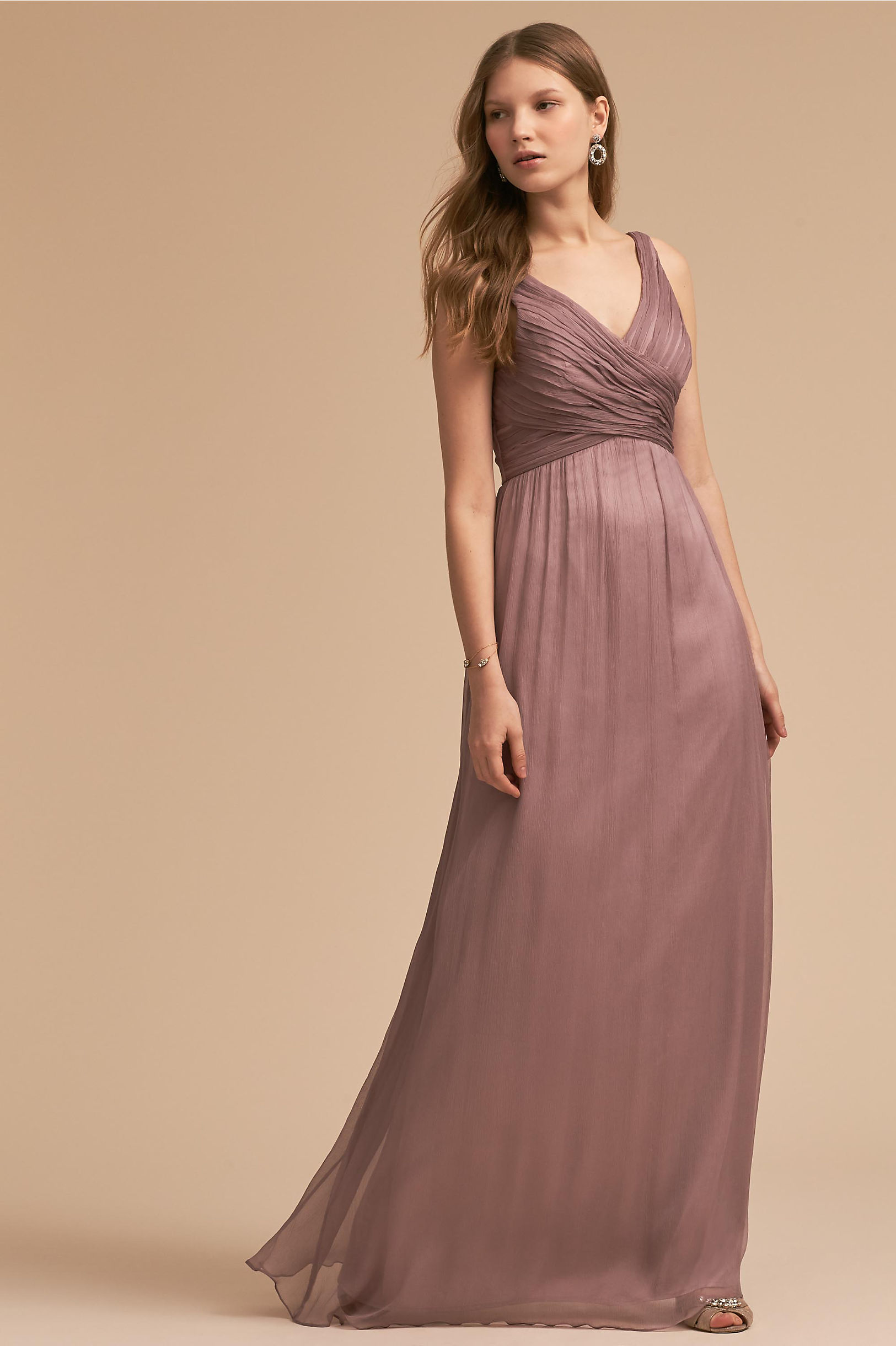 Purple bridesmaid dresses bhldn angie dress ombrellifo Image collections