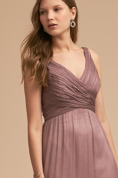BHLDN Violet Grey Angie Dress | BHLDN