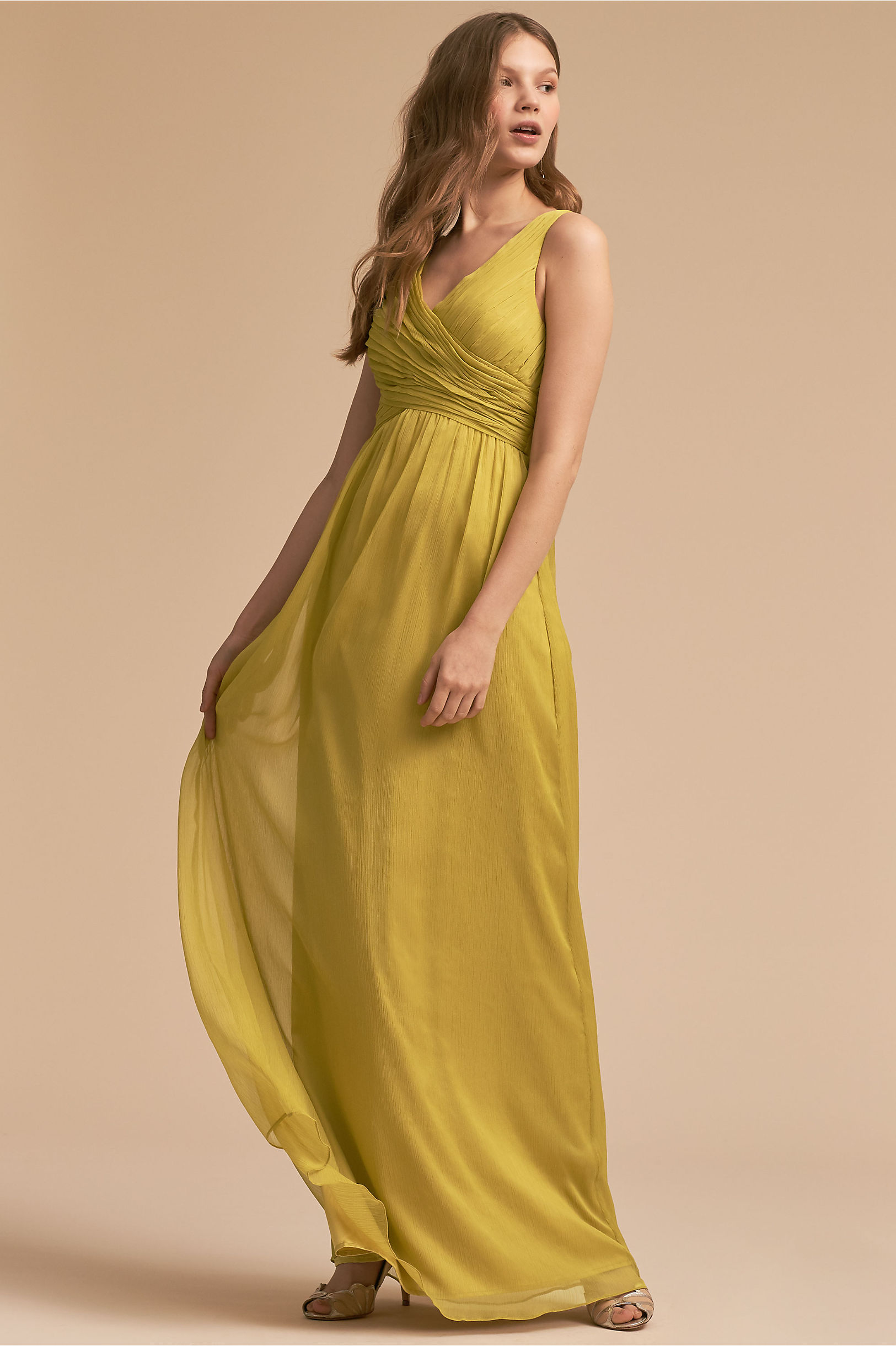 Long bridesmaid dresses gowns chiffon styles bhldn angie dress ombrellifo Gallery