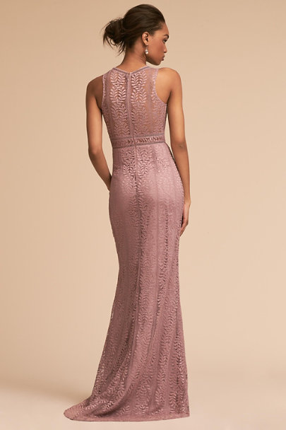 BHLDN Mauve Connor Dress | BHLDN