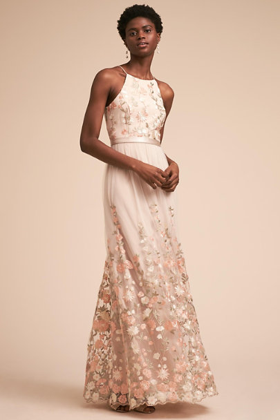 BHLDN Ivory Shannon Dress | BHLDN