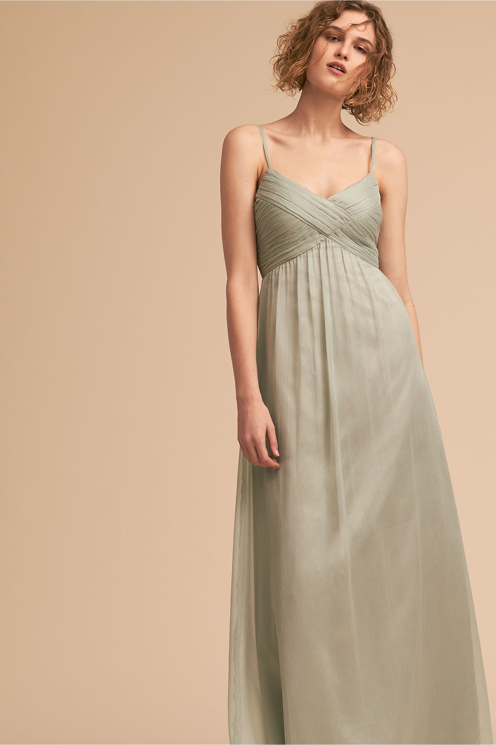 Green bridesmaid dresses bhldn brigitte dress ombrellifo Choice Image