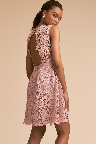BHLDN Mauve Rosaline Dress | BHLDN