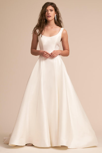 Eddy K Ivory Bishop Gown | BHLDN