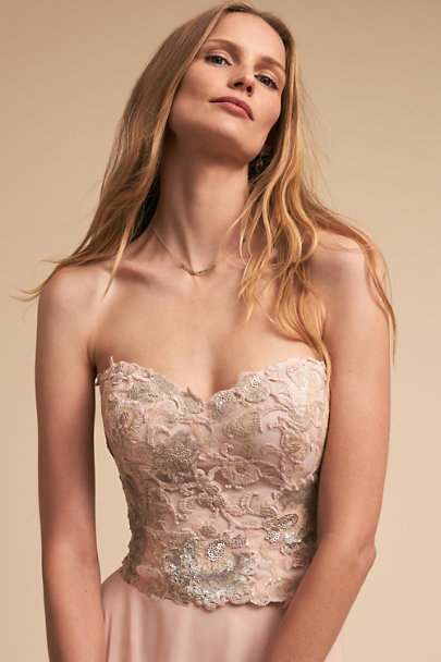 Watters Blush Renae Corset Top | BHLDN
