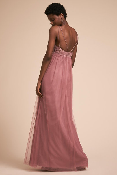Watters Morganite Ashleigh Dress | BHLDN