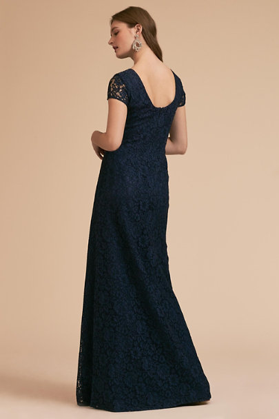 Donna Morgan Navy Deja Dress | BHLDN
