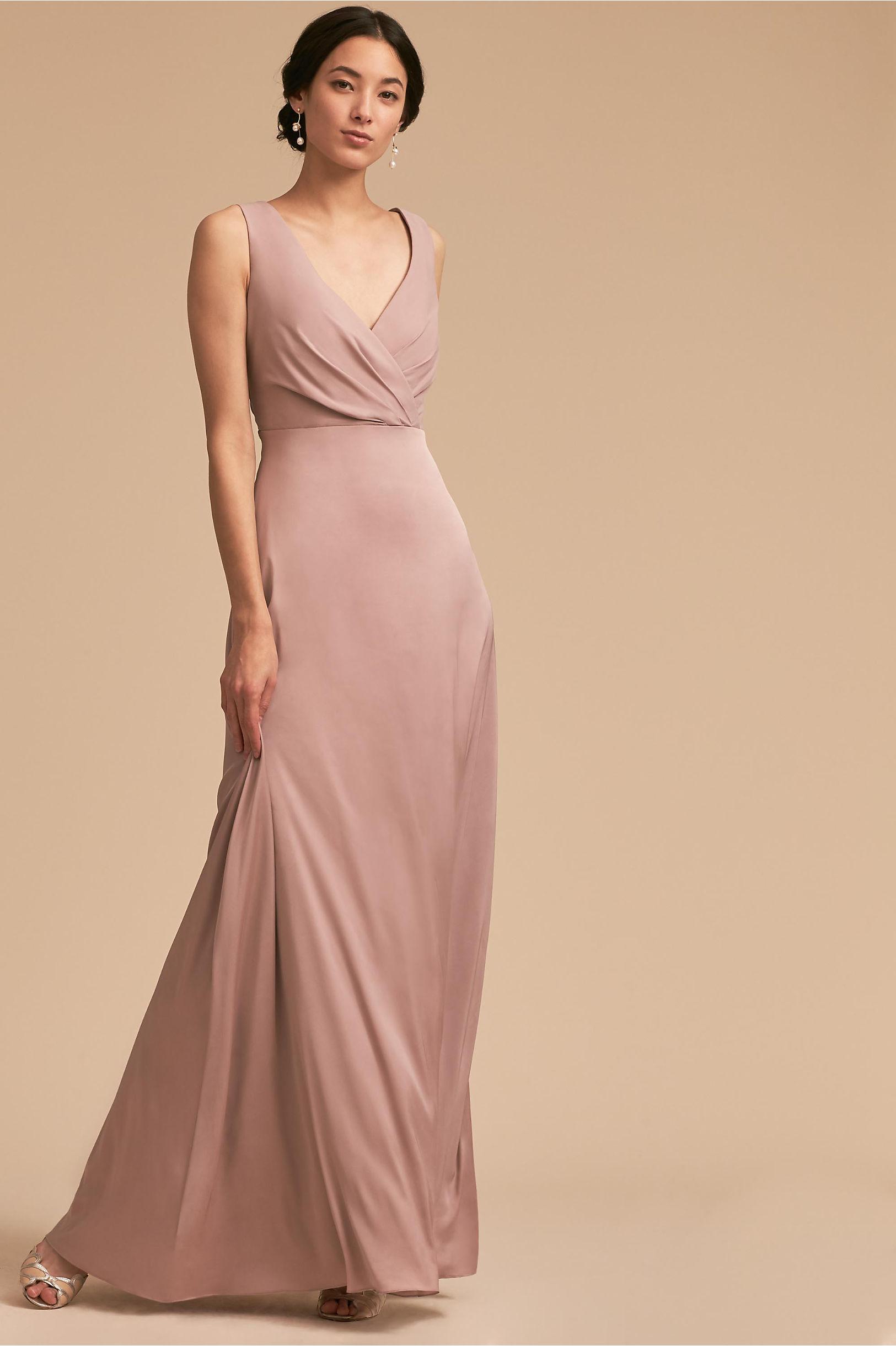 Sabine Dress Rose in Sale   BHLDN