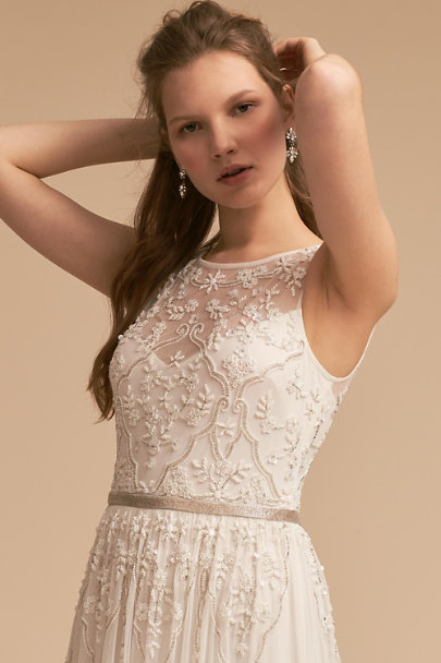 BHLDN Ivory Eliza Dress | BHLDN