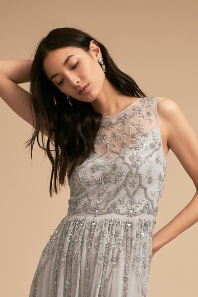 BHLDN Morning Mist Eliza Dress | BHLDN