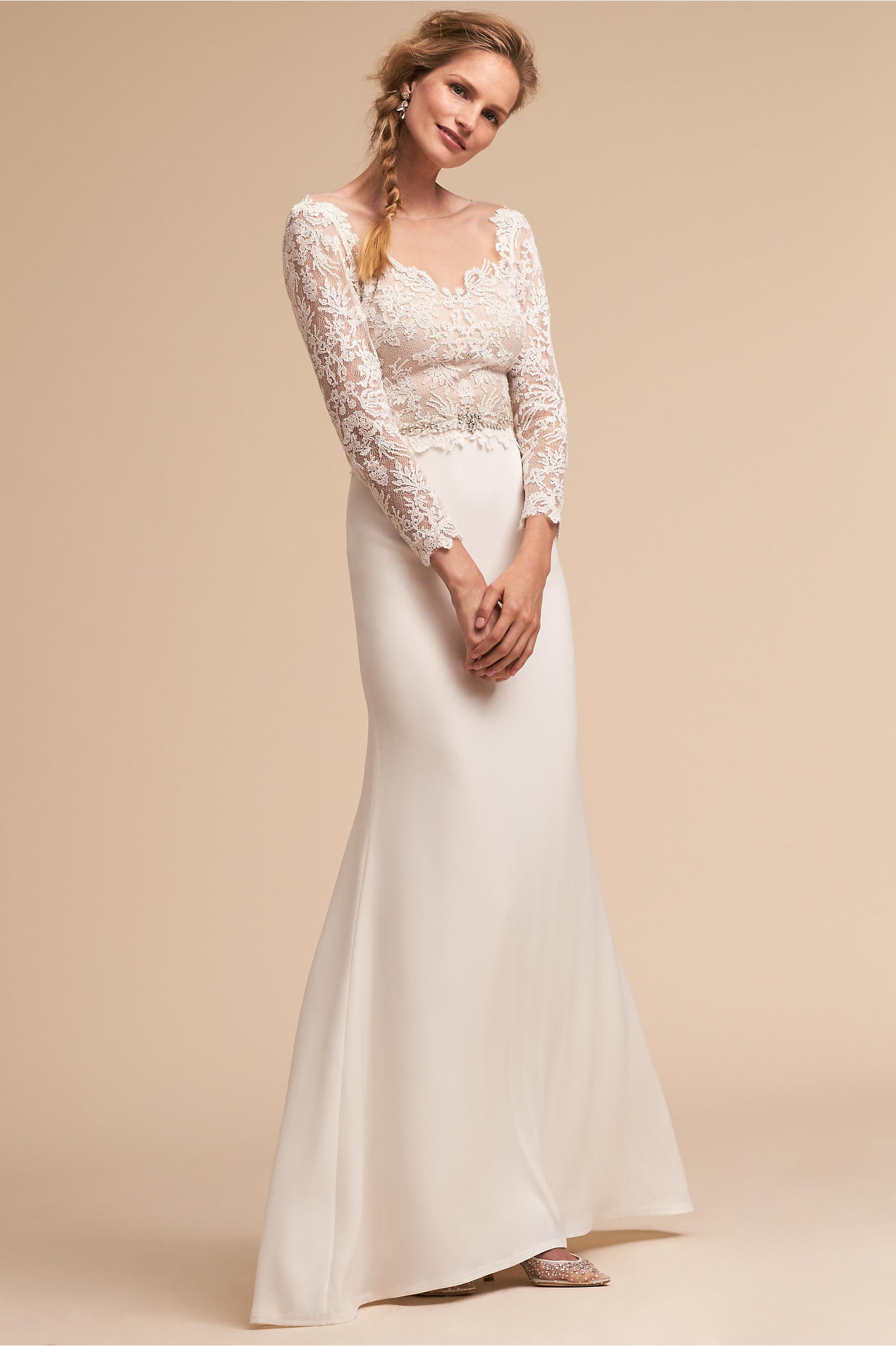 Vintage Inspired Wedding Dress | Vintage Style Wedding Dresses Langston Gown $700.00 AT vintagedancer.com