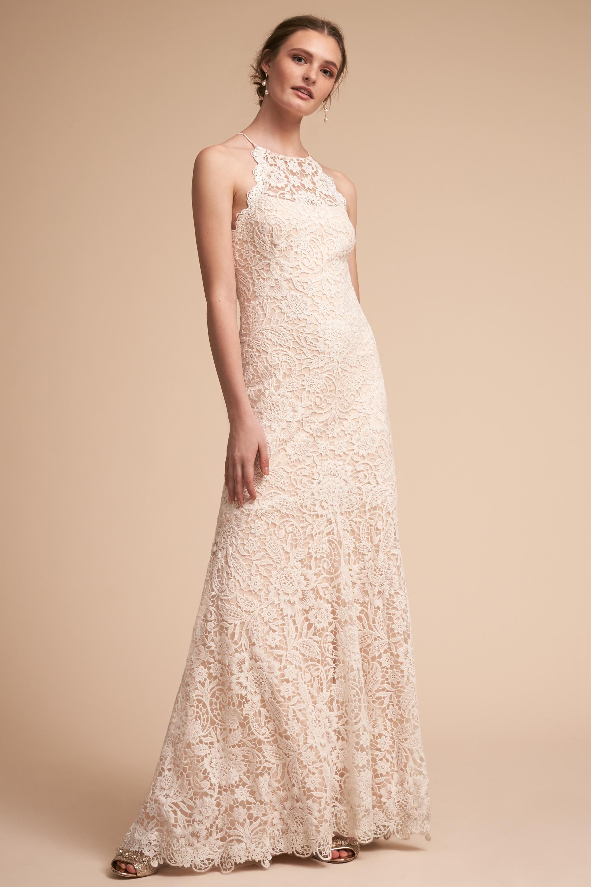 Christiane wedding dress bohemian