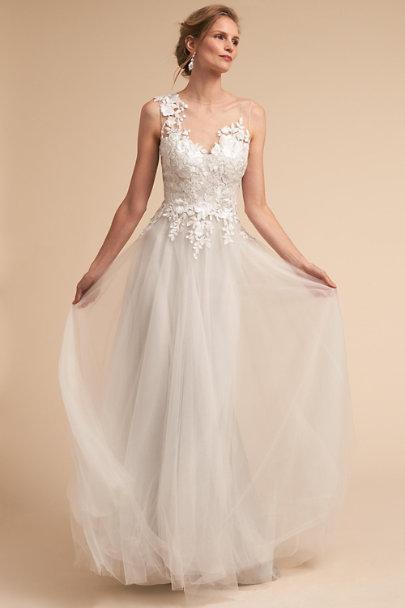 Marsden Gown Light Grey in Sale | BHLDN