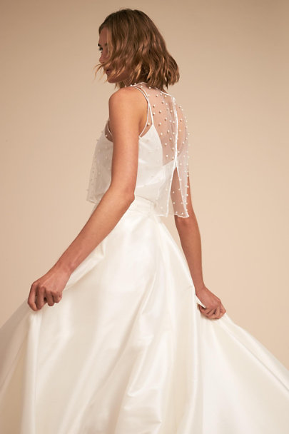 Jenny Yoo Ivory Riley Topper | BHLDN