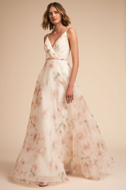 Jenny Yoo Petal Multi Carolina Gown | BHLDN