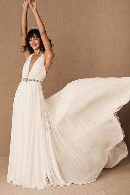 Bohemian Wedding Dresses Boho Bridal Gowns Bhldn